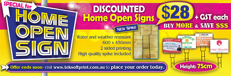 Home open sign