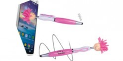 Mop Top Awareness Ribbon Ballpoint Pen / Stylus LN1725