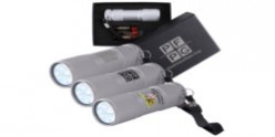 The Tube Silver Aluminium LED Torch LL11009