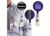 LL451 Retractable Name Badge Holder with Metal Cli